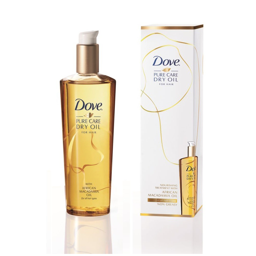 Dove, Advanced Hair Series, Pure Care Dry Oil